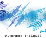 abstract future technology... | Shutterstock .eps vector #546628189