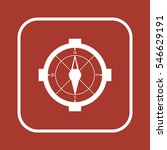 compass   icon   isolated.... | Shutterstock .eps vector #546629191