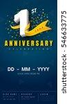 1 years anniversary invitation...