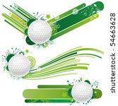 golf design element   Shutterstock .eps vector #54663628