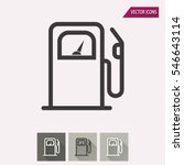 fuel vector icon. illustration... | Shutterstock .eps vector #546643114
