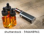 vaping mod e cig with tank...   Shutterstock . vector #546648961