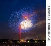 Fireworks Over Lincoln Memoria...