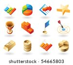 high detailed realistic vector... | Shutterstock .eps vector #54665803