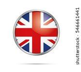 vector british flag button.... | Shutterstock .eps vector #546661441
