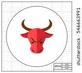 stock market trend bull | Shutterstock .eps vector #546663991