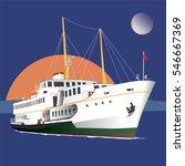 ship istanbul vector    Shutterstock .eps vector #546667369