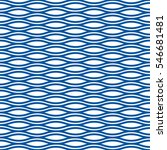 seamless abstract wave ripple... | Shutterstock .eps vector #546681481