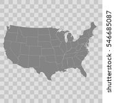 united states map   Shutterstock .eps vector #546685087