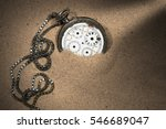 Old And Broken Pocket Watch...