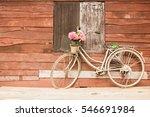Bicycles Old Vintage Flowers In ...