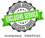 exclusive service. stamp....