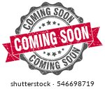 coming soon. stamp. sticker.... | Shutterstock .eps vector #546698719