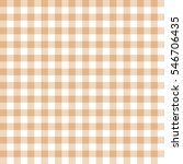 seamless beige gingham vintage... | Shutterstock .eps vector #546706435