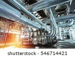 industrial zone  steel... | Shutterstock . vector #546714421
