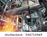 equipment  cables and piping as ... | Shutterstock . vector #546714469