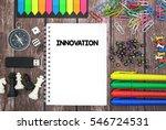innovation | Shutterstock . vector #546724531