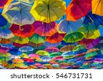 umbrella street decoration