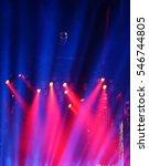 defocused entertainment concert ... | Shutterstock . vector #546744805