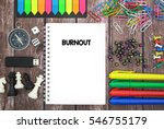 burnout | Shutterstock . vector #546755179