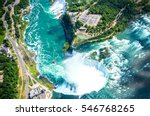 Niagara Falls Aerial View From...