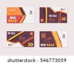 website banner  horizontal... | Shutterstock .eps vector #546773059