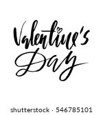 vector valentines day vintage... | Shutterstock .eps vector #546785101