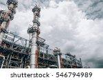 industrial zone the equipment... | Shutterstock . vector #546794989