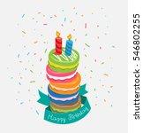 vector happy birthday