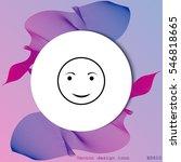 face icon. smile icon
