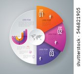 infographic design vector and... | Shutterstock .eps vector #546821905