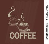 cup of coffee | Shutterstock .eps vector #546823987