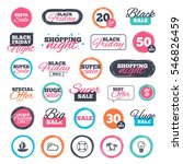 sale shopping stickers and...   Shutterstock .eps vector #546826459