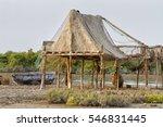 Wooden Hut On Near The Qeshm...