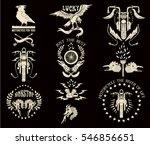 motorcycle vector illustration...   Shutterstock .eps vector #546856651