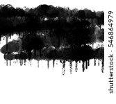 realistic grunge graffiti spray ... | Shutterstock . vector #546864979