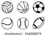 a super set of sport balls...