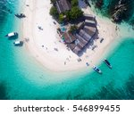 top view of small isolated... | Shutterstock . vector #546899455