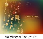abstract background with water | Shutterstock .eps vector #54691171