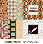vector seamless patterns from...
