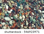 Colorful Sea Stones Under Wate...