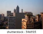 Atlanta Cityscape - stock photo