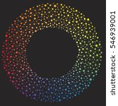colorful rainbow circle design... | Shutterstock .eps vector #546939001
