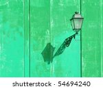a lamp. more of this motif in... | Shutterstock . vector #54694240