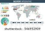 world transportation and... | Shutterstock .eps vector #546952909