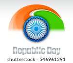 illustration of happy republic... | Shutterstock .eps vector #546961291