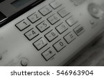 fax machine close up office... | Shutterstock . vector #546963904