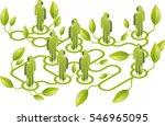 environmental network | Shutterstock .eps vector #546965095