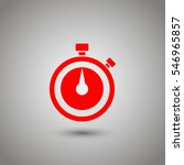 stopwatch vector icon | Shutterstock .eps vector #546965857
