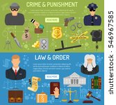 law and order horizontal... | Shutterstock .eps vector #546967585